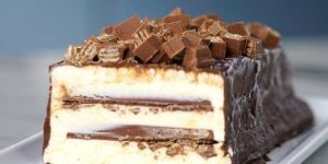 Torta Kit Kat com sorvete, que receita incrível, confira!