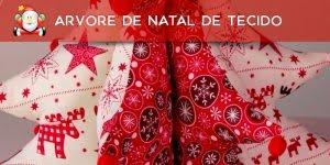 Tutorial de arvore de Natal de tecido com enchimento, simplesmente perfeita!!!