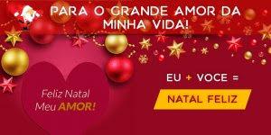 Vídeo de Feliz Natal com mensagem para o amor de sua vida!!!